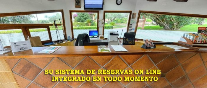 Recorrido Virtual Campo de Golf - Recepción - Venta On line - Yardas Tour