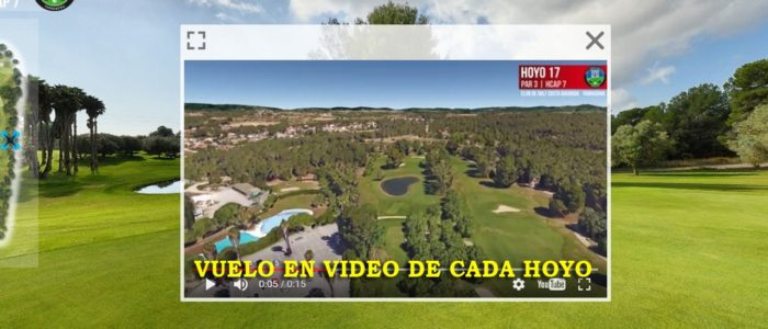Recorrido Virtual Campo de Golf - Video - Drone - Yardas Tour