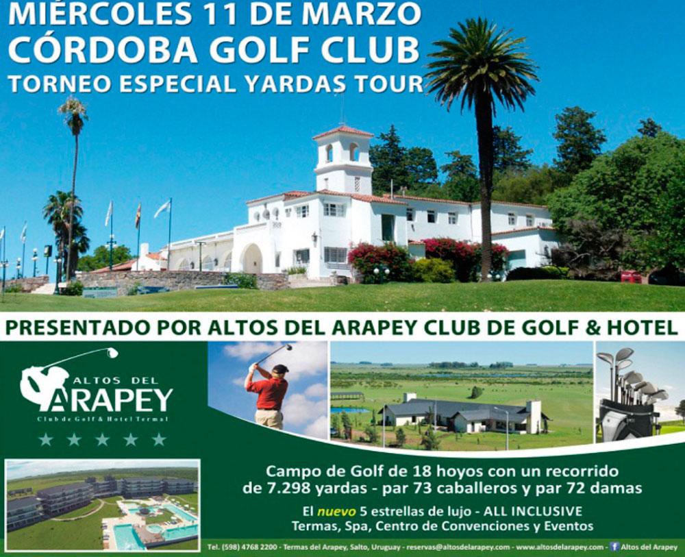 Torneo Yardas Tour Especial – Altos del Arapey