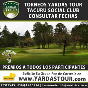 Torneos Yardas Tour en el Tacurú Social Club