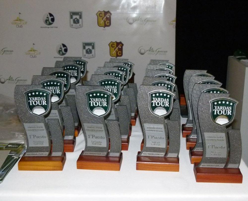 Entrega de Premios y Cierre del Yardas Tour Championship