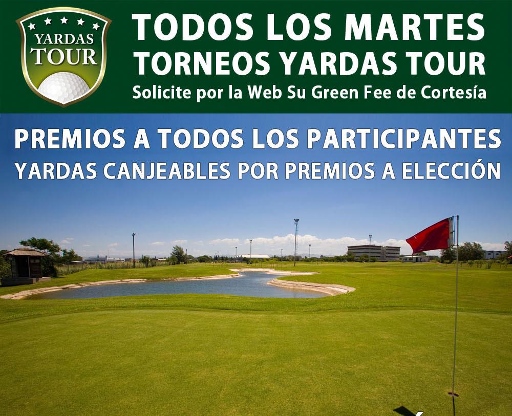 Torneos Yardas Tour en Quorum Hotel & Golf