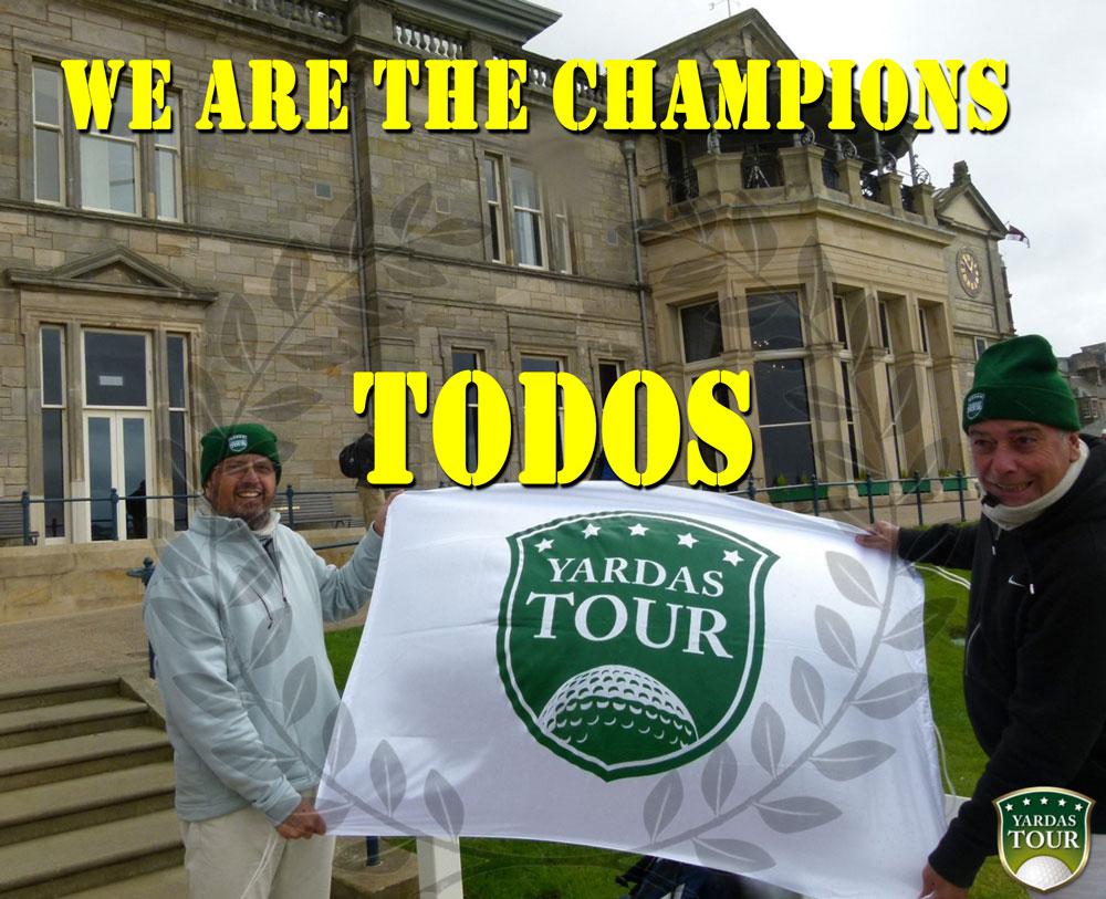 Campeones Yardas Tour Todos