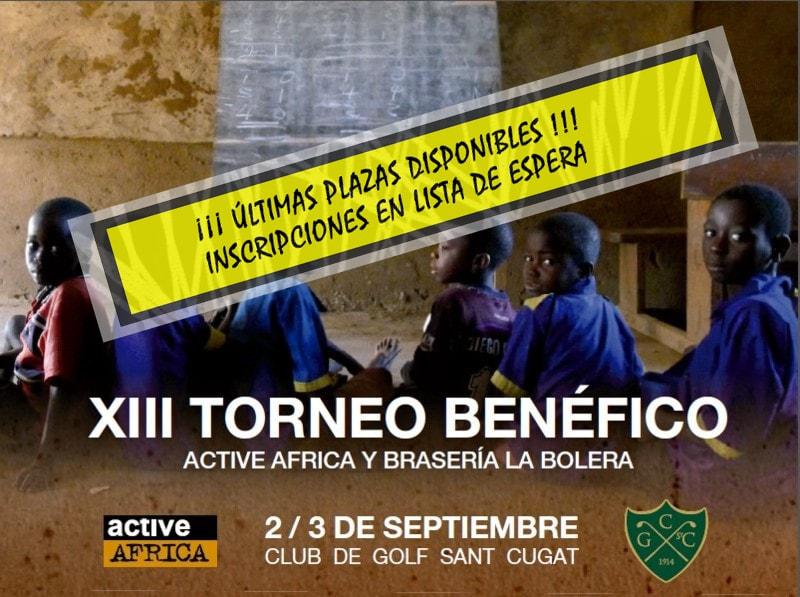 XIII Torneo Benéfico Active Africa y Brasería La Bolera