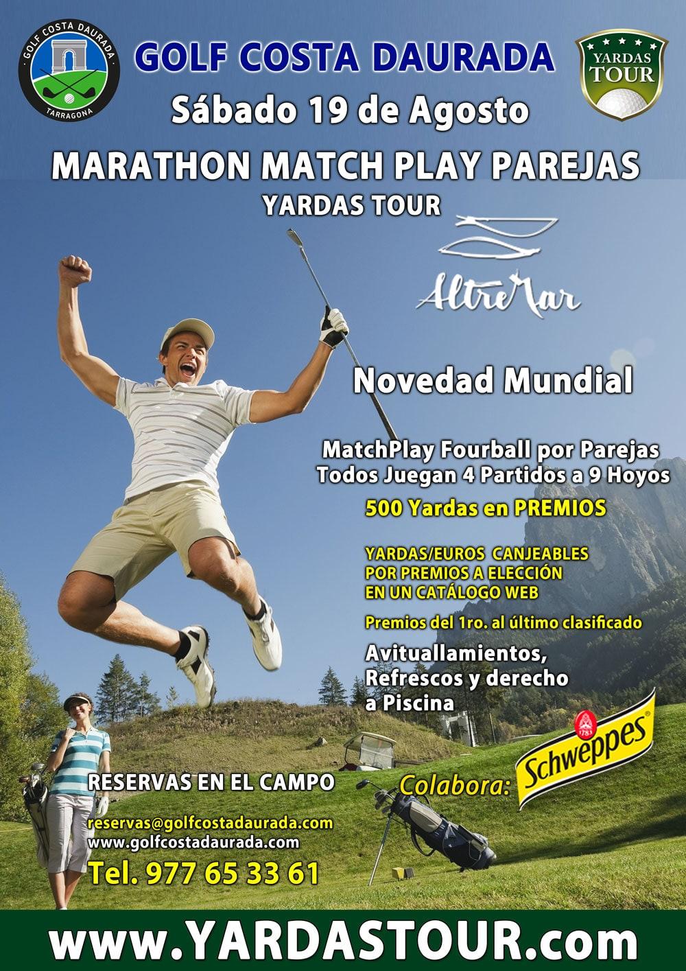 Marathon Match Play por Parejas – Sábado 19 de Agosto