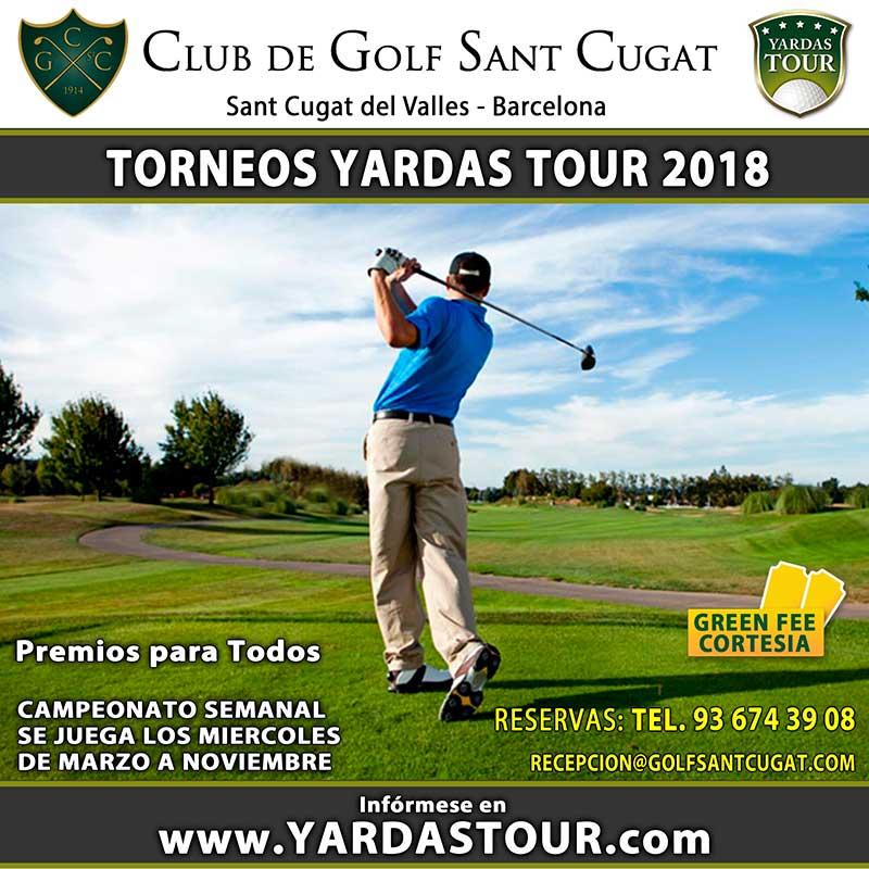 SANT-CUGAT-Torneos-Yardas Tour 2018