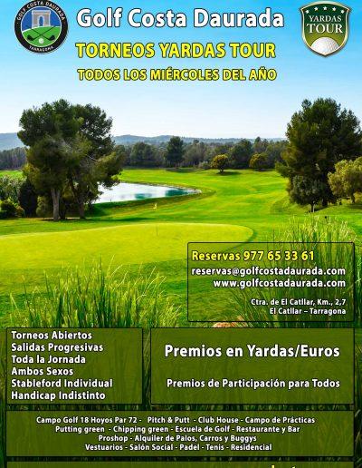 Golf Costa Daurada - Torneos Yardas Tour