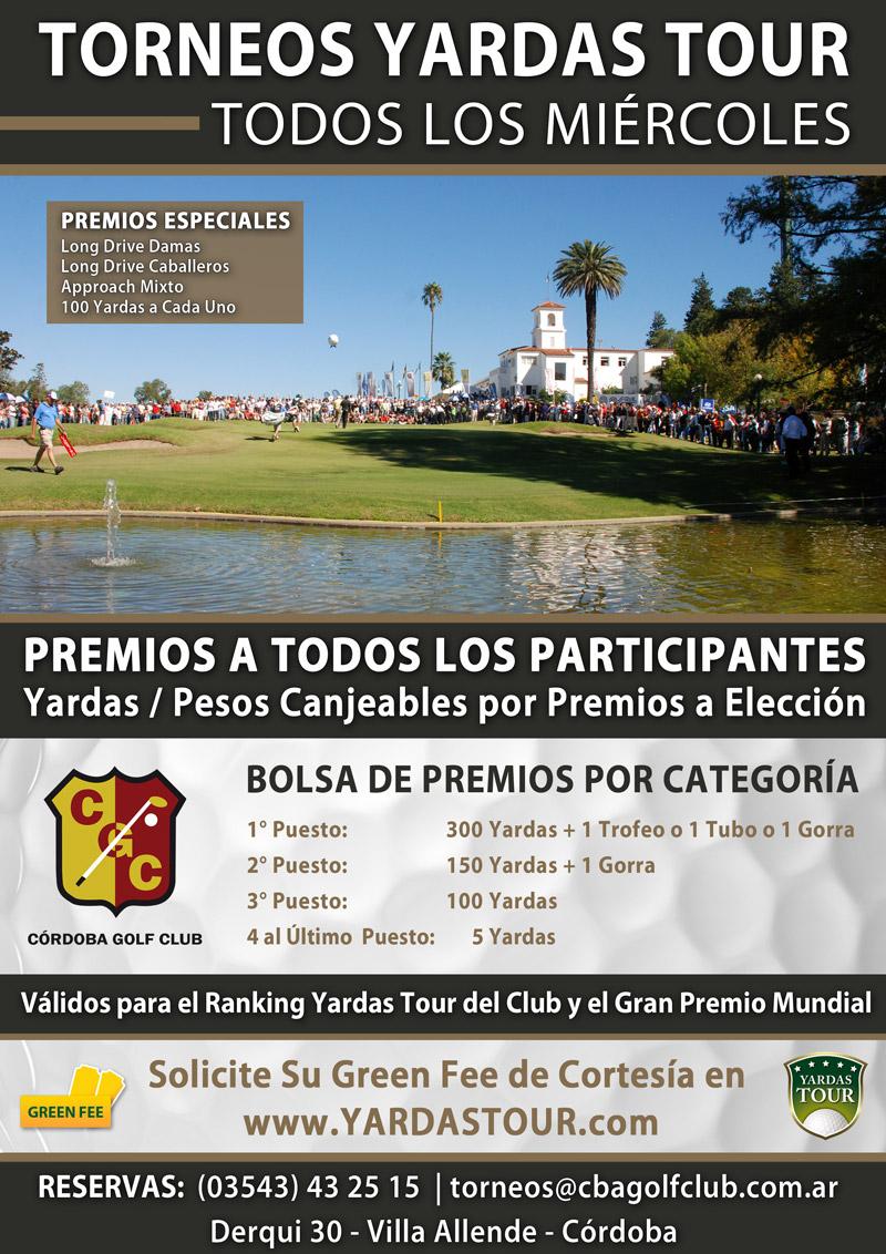 Yardas Tour en el Córdoba Golf Club