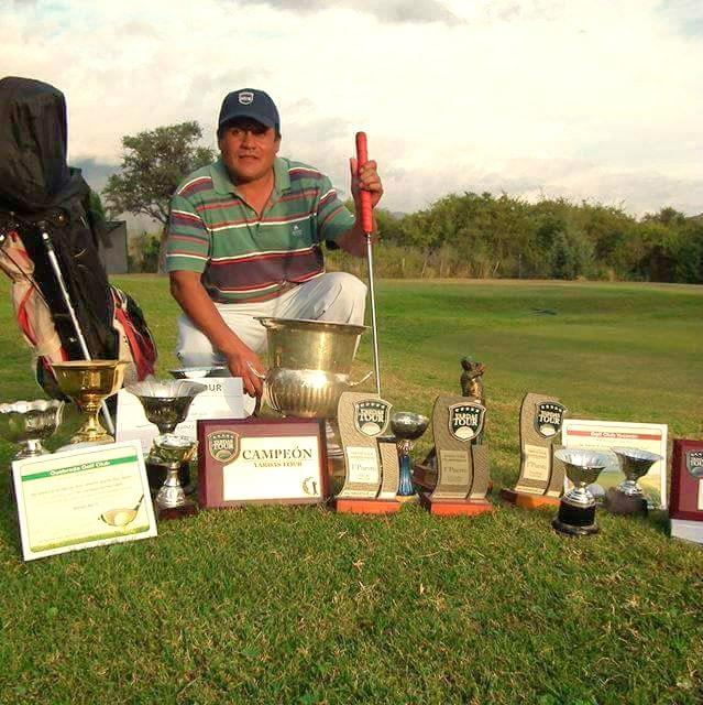 Jaime Carranza Campeón Mundial Yardas Tour 2016