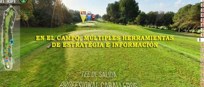 Recorrido Virtual Campo de Golf - Estrategia - Yardas Tour
