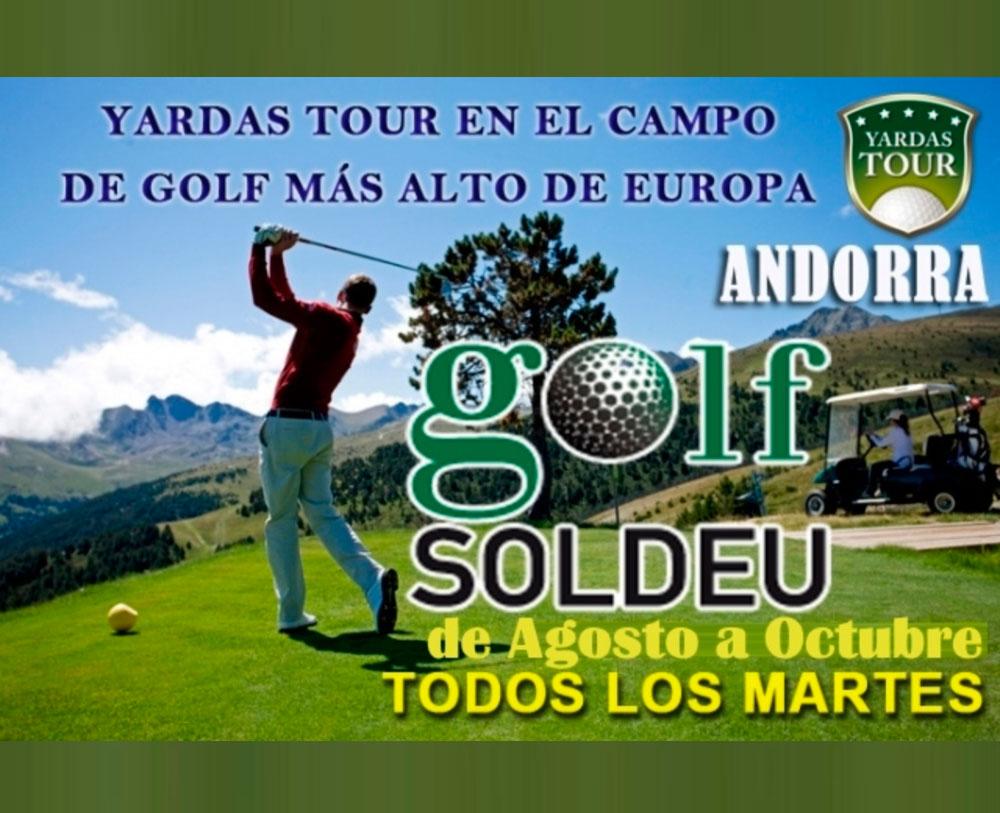 Yardas Tour en Golf Soldeu (Andorra)