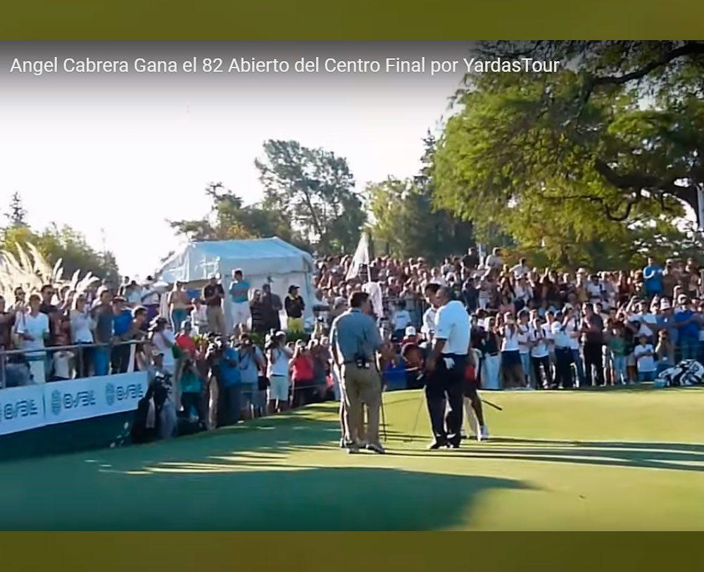 Pato Cabrera un Gran Campeón del Abierto 2013