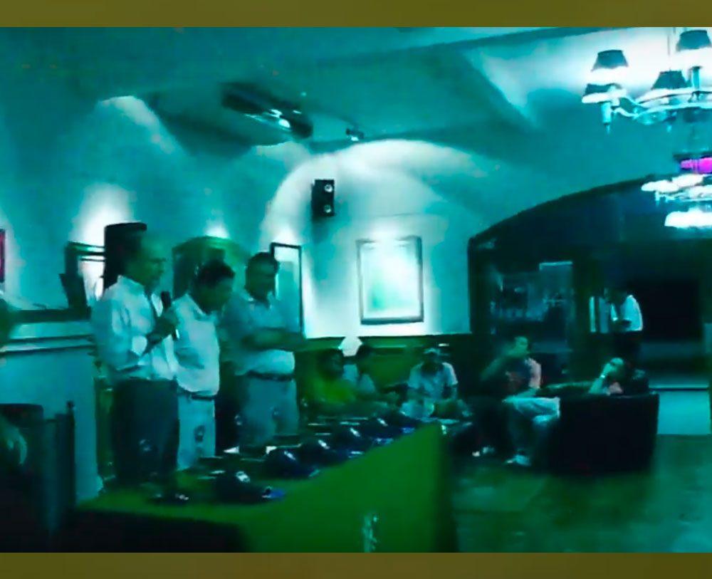 Presentación Yardas Tour en Córdoba Golf Club