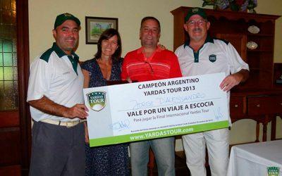 Campeón Argentino Yardas Tour 2013