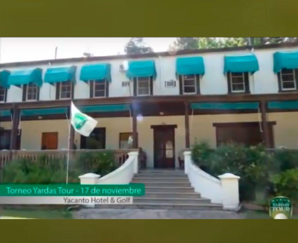 Torneo Yardas Tour en Yacanto por TV
