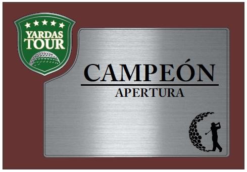 Ranking Yardas Tour por Clubes Argentinos – Apertura 2013