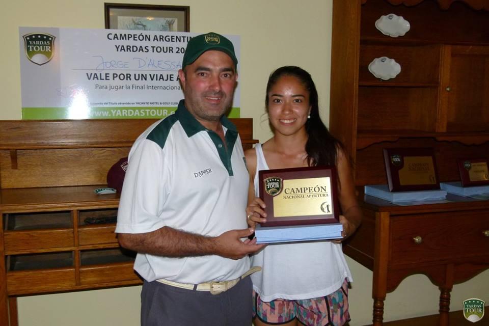 Campeón Argentina Yardas Tour Apertura 2013