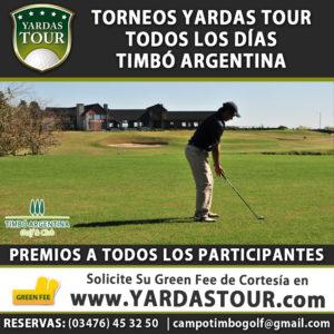Torneos Yardas Tour en Timbó Argentina
