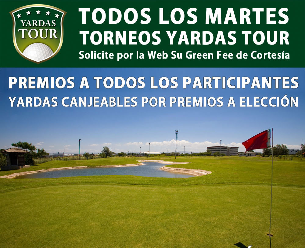 Torneos Yardas Tour en Quorum Hotel & Golf
