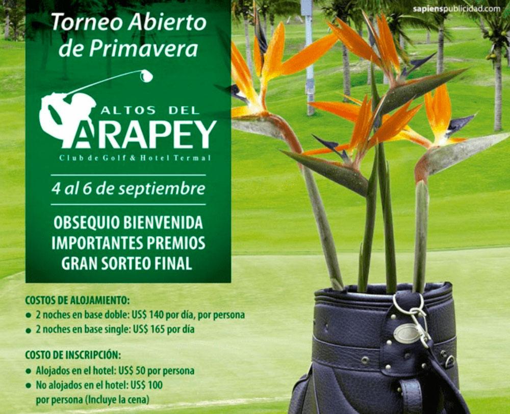 Torneo de Primavera en Altos del Arapey