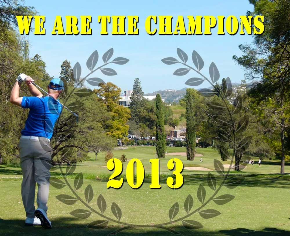 Campeones Yardas Tour Temporada 2013