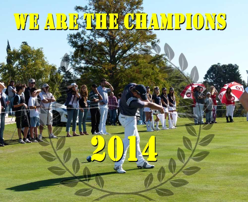 Campeones Yardas Tour Temporada 2014