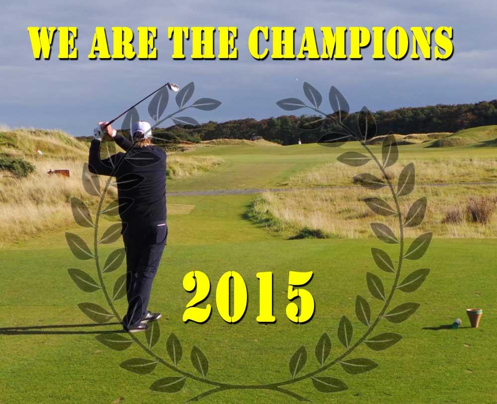 Campeones Yardas Tour Temporada 2015