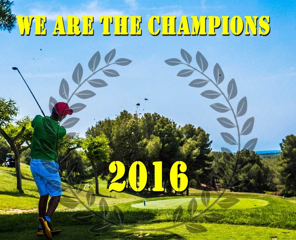 Campeones Yardas Tour Temporada 2016