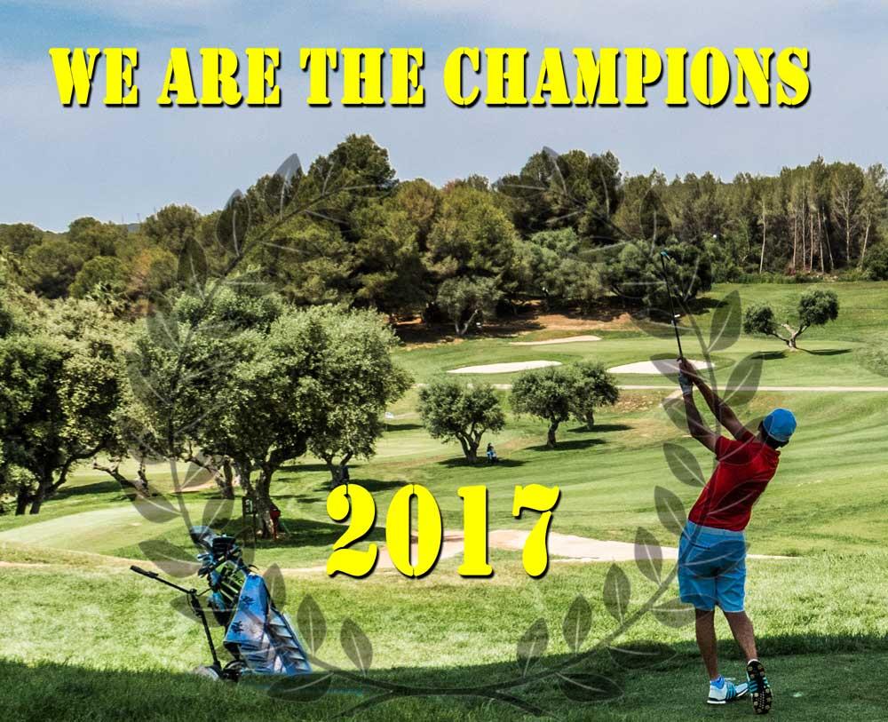 Campeones Yardas Tour Temporada 2017