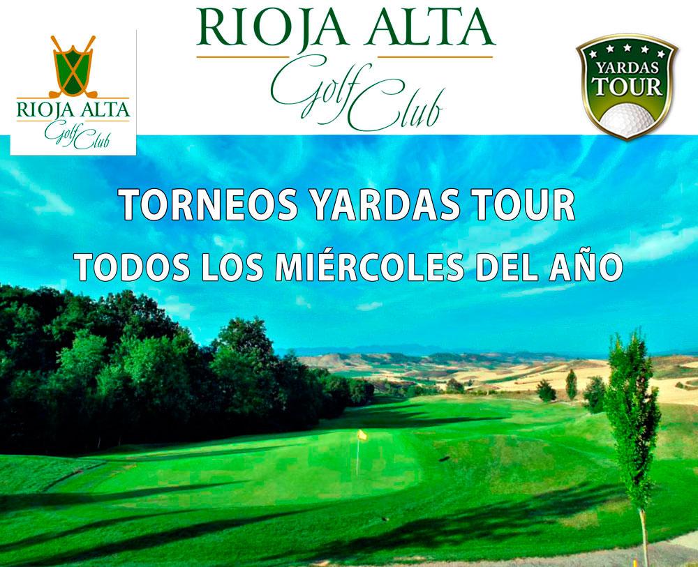 Miércoles Yardas Tour en Rioja Alta Golf Club
