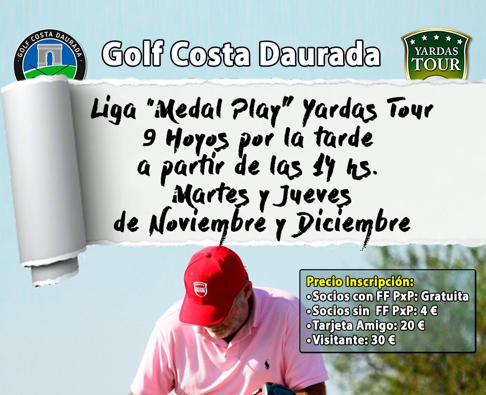 Liga Medal Play 9 Hoyos Golf Costa Daurada