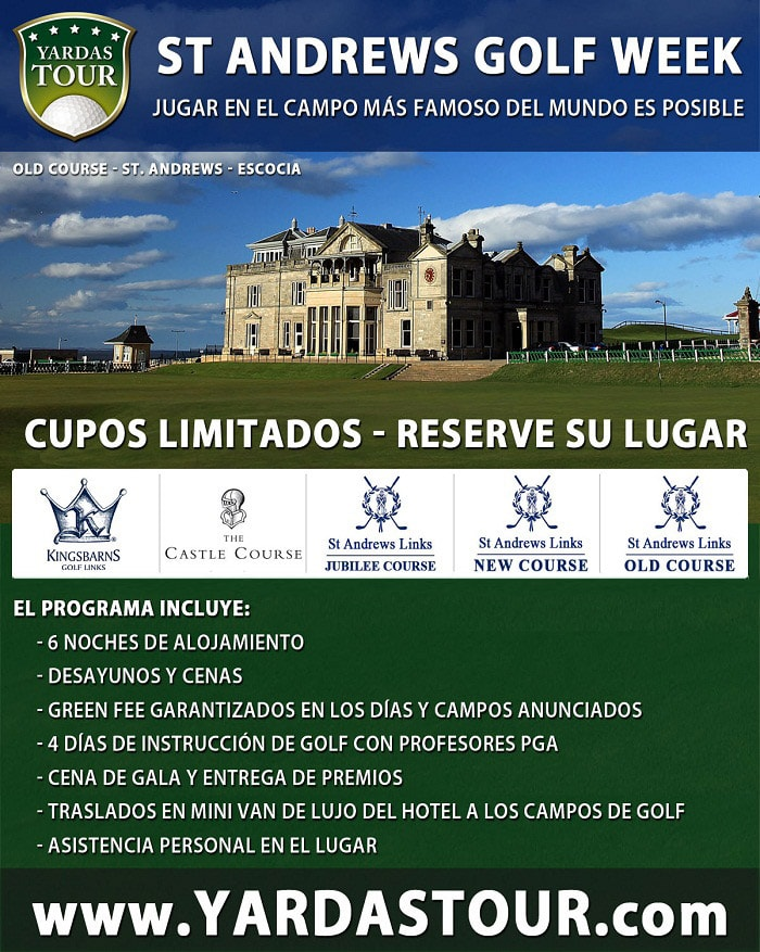 Yardas Tour Open Old Course